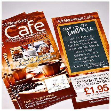 Cafe leaflet design cafe flyer designs for Cafe brochure design
